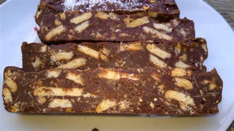 mes julie gourmandises g 226 teau chocolat petits beurre sans cuisson