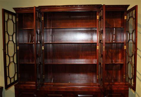 kitchen cabinets with glaze joseph gerte boston ma mahogany breakfront server cabinet 8012