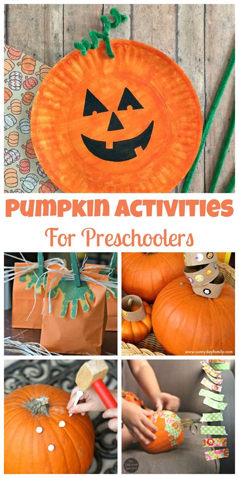 easy pumpkin activities for preschoolers happy home 726 | Easy Pumpkin Activities for Preschoolers