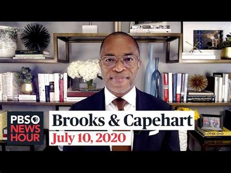 PBS NewsHour: David Brooks and Jonathan Capehart on Trump ...