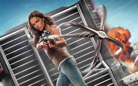 michelle rodriguez   fate   furious hd movies