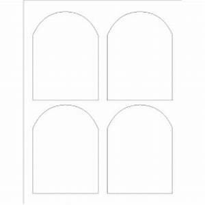 templates arched labels 4 per sheet adobe photoshop With adobe label templates