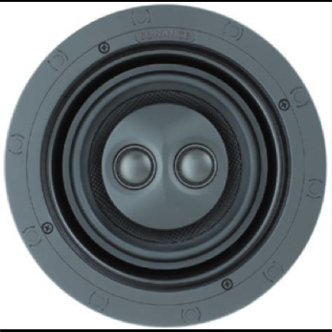 sonance in ceiling speakers sonance visual performance vp62r sst surr in ceiling