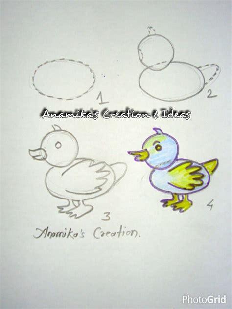 teach drawing  kids step  step art craft ideas