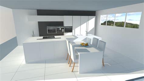 cuisiniste rouen cuisine moderne blanc mat