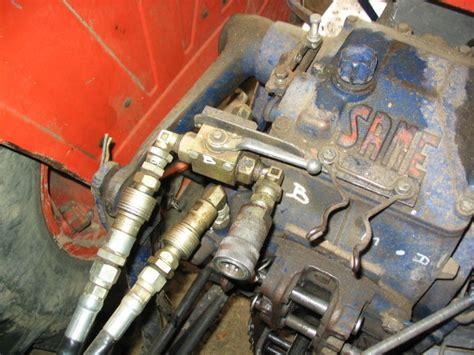 siege de tracteur hydraulique sur minitauro 60