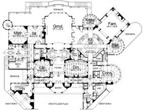 large house blueprints large mansions modern large mansion house floor plan