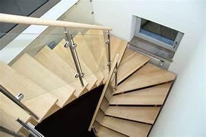 Treppe Mit Glasgeländer : aufgesattelte treppen treppenzentrum schmid ~ Sanjose-hotels-ca.com Haus und Dekorationen