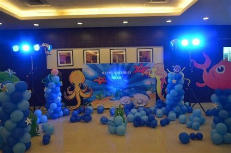 Underwater Theme Party )  Party Ideas Pinterest