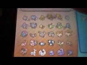 Pokemon Y - Living pokedex, all 718 pokemon! - YouTube