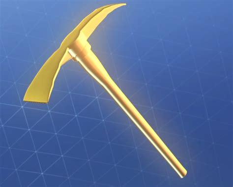 golden pickaxe   wins fortnitebr