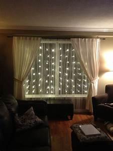 Light Und Living : great idea use snowflake lights sheer curtains to illuminate and embellish your room find ~ Eleganceandgraceweddings.com Haus und Dekorationen
