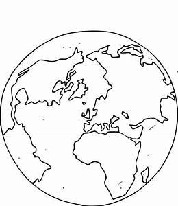 Globe Terrestre Pour Enfant : coloriage globe terrestre imprimer ~ Teatrodelosmanantiales.com Idées de Décoration