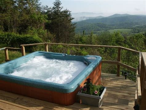 cottages with pool and tub spectacular views swimming pool tub real log fires
