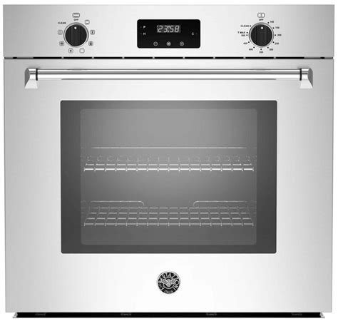 bertazzoni master series  stainless steel electric built  single oven masfsxv