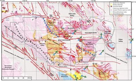 Basin Geometry And Cumulative Offsets In The Eastern