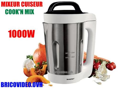 notice mixeur cuiseur silvercrest skm 1000 lidl cook 39 n mix