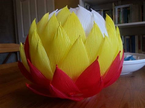diy lotus  paper lanterns art craft ideas