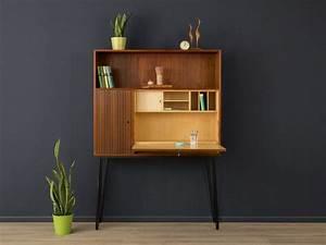 Sekretär Modern Design : exklusiver sekret r teak 60er sideboard vintage von mid ~ Watch28wear.com Haus und Dekorationen