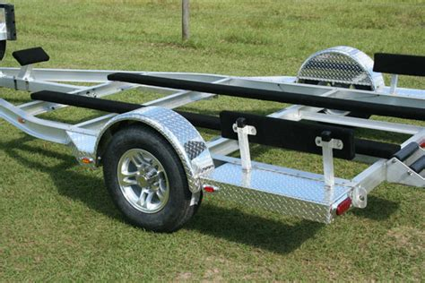 Small Aluminum Boat Trailer by Custom Airboat Trailers