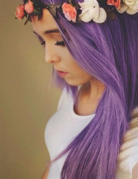 50 Beautiful Purple Hair Color Ideas And Styles My New