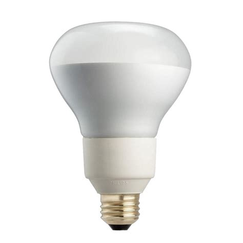 philips 85w equivalent soft white r40 dimmable cfl flood
