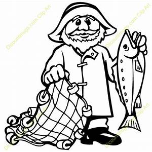Fishermen casting nets clipart - Clipart Collection ...