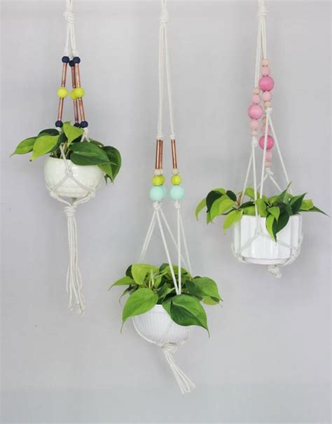 diy hanging planter unique diy hanging planters