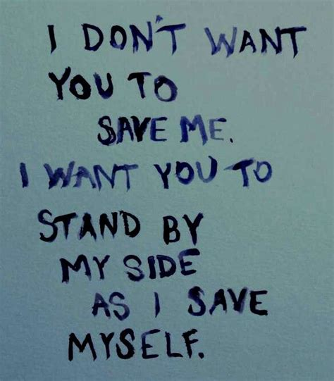 You Stand By My Side Quotes