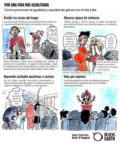 10 acciones del día a día que promueven la igualdad de ...