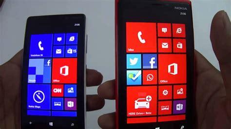 nokia lumia 920 lumia 820 comparison youtube