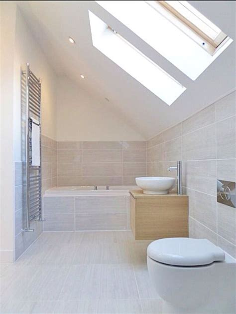 Neutral Bathroom Tiles by Neutral Beige Bathroom Fully Tiled Around Bath Bathroom