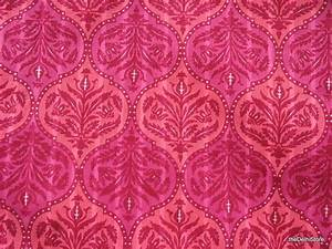 Indian Block Print Cotton Fabric in Pink Sold by theDelhiStore
