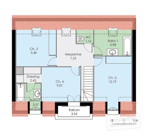 Plan Maison Familiale by Maison Familiale 2 D 233 Du Plan De Maison Familiale 2