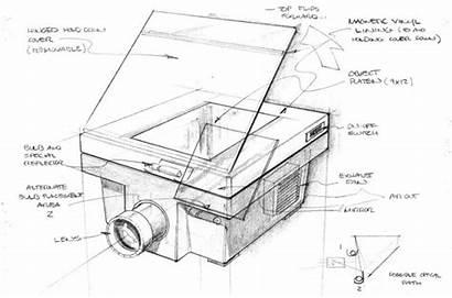 Sketch Coroflot Projector Opaque Build Proposed Functions