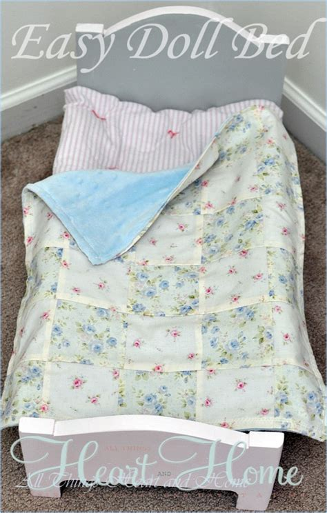 easy diy doll bed   heart  home