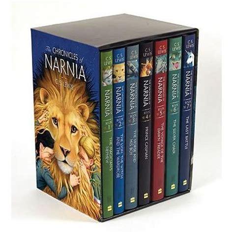 chronicles  narnia   hardcover books