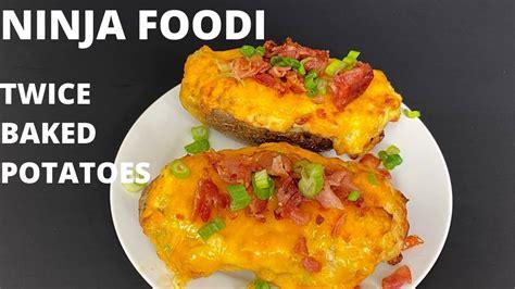 baked potatoes   ninja foodi youtube