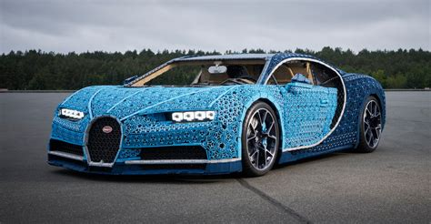 Just a few months ago, bugatti and lego teamed up to create a technic kit of the chiron hypercar. Full-scale Lego Bugatti Chiron can actually be driven   CarAdvice