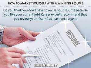 marketing yourself with a compelling resume With write your resume to market yourself