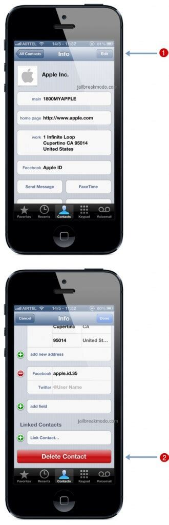 delete contacts iphone how to delete contacts from iphone 5 iphone 4 8gb