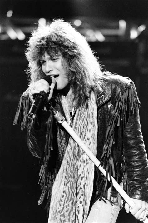 Jon Bon Jovi Glam Metal Bands Popsugar Love