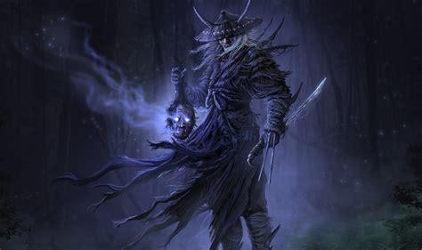 warrior samurai dark sword wallpaper