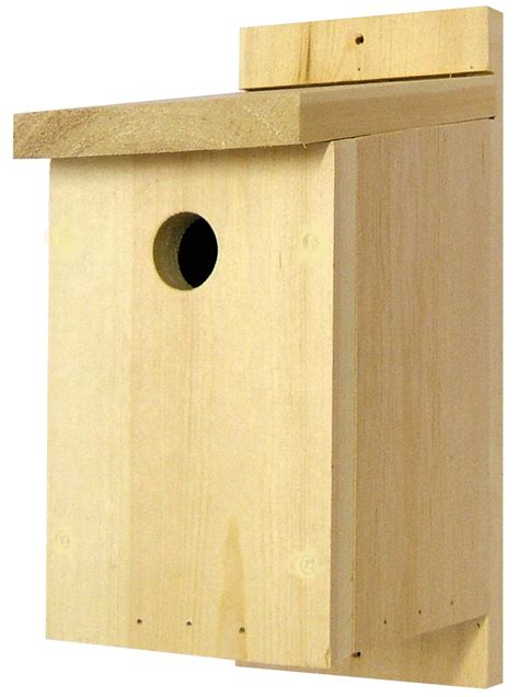 traditional wooden bird nest box nhbs