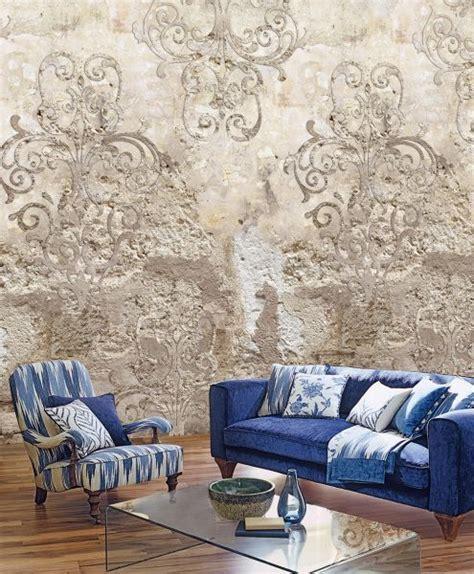 Wohnzimmer Antik Einrichten by Vlies Fototapete Steinwand Antik Ornament Mediteran