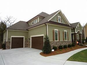 Brown Exterior Paint Color Schemes