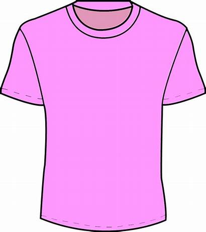 Clipart Shirts Shirt Clothes Blouse Pink Template