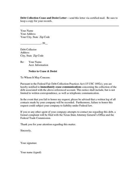 debt collection letter debt collection letter template