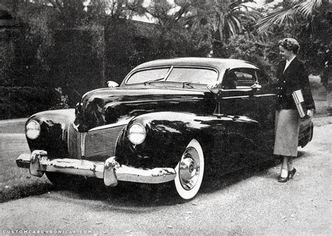 Gil Ayala 1940 Mercury  Custom Car Chroniclecustom Car