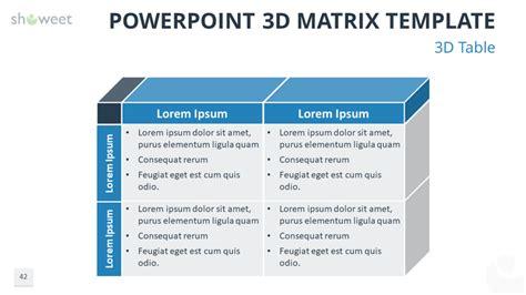 plantillas de matrices powerpoint